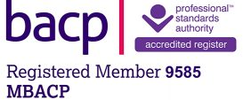 BACP Accredited member 9585